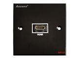 品牌:奥盛 Aosens&#10名称:多媒体面板&#10型号:AS-ZJ-WP128(黑色)