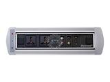 品牌:奥盛 Aosens&#10名称:电动翻转桌面插座 多媒体台面插座&#10型号:AS-ZH-002