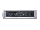 品牌:奥盛 Aosens&#10名称:电动翻转桌面插座 多媒体台面插座&#10型号:AS-ZH-004