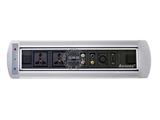 品牌:奥盛 Aosens&#10名称:电动翻转桌面插座 多媒体台面插座&#10型号:AS-ZH-005