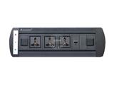 品牌:奥盛 Aosens&#10名称:电动翻转桌面插座 多媒体台面插座&#10型号:AS-ZH-007