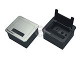 品牌:奥盛 Aosens&#10名称:桌面插座 毛刷翻盖桌面插座&#10型号:AS-ZH-103