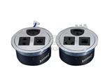 品牌:奥盛 Aosens&#10名称:桌面插座 穿线盒桌面插座&#10型号:AS-ZH-801
