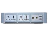 品牌:奥盛 Aosens&#10名称:桌面插座 屏风插座&#10型号:AS-ZF-0018