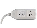 品牌:可来博 Clamber&#10名称:空调专用插座16A 2位3米&#10型号:STY-1-02/2000.3M