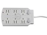 品牌:可来博 Clamber&#10名称:网络专用插座双排6位双独立开关2米&#10型号:STY-1-26/2000P.2M