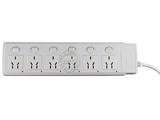 品牌:可来博 Clamber&#10名称:万用六开六位带指示灯 5米&#10型号:STY-1-66.5M