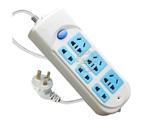 品牌:公牛 BULL&#10名称:插座 总控6联3米插座&#10型号:GN-609