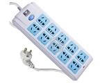 品牌:公牛 BULL&#10名称:插座 总控双排10联3米万用插座&#10型号:GN-218