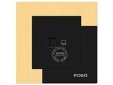 品牌:品上 POSO&#10名称:一位超五类电脑插座 (打线类) 一位超五类电脑插座 (打线类) 一位超五类电脑插座 (打线类) &#10型号:AF/C01/A