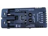 品牌:奥盛 Aosens&#10名称:全球通双USB充电旅行转换适配器 旅行转换插头&#10型号:AS-CU-206