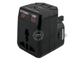 品牌:奥盛 Aosens&#10名称:全球通单USB转换插头 旅行转换器 5V 500mA 带指示灯 过载保护&#10型号:AS-CU-102