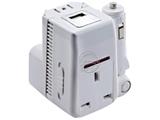 品牌:奥盛 Aosens&#10名称:全球通单USB转换插头 旅行转换器 5V 500mA 带指示灯&#10型号:AS-CU-113