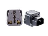 品牌:奥盛 Aosens&#10名称:单一IEC万用旅行转换插头 旅行转换器&#10型号:AS-CY-WD320