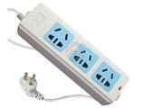 品牌:公牛 BULL&#10名称:插座 3联1.8米万用插座&#10型号:GN-405D
