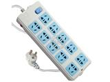 品牌:公牛 BULL&#10名称:插座 总控双排10联3米插座&#10型号:GN-110