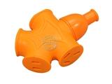 品牌:国产 Guochan&#10名称: 无线插座 人体防爆插板 黄色软胶防爆插座 16A大功率5000W 200g &#10型号:NX-911 黄色